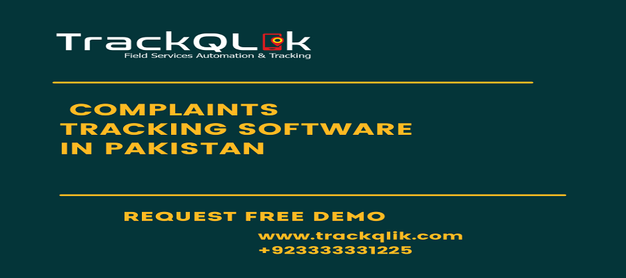 Complaints Tracking Software in Pakistan Handle Customer Complaints
